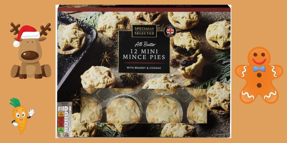 Aldi 12 Mini Mince Pies back this June