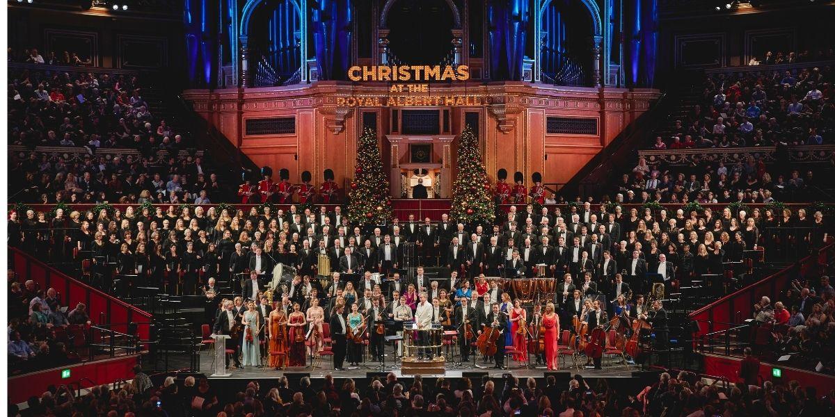 Christmas with the Royal Choral Society at the Royal Albert Hall