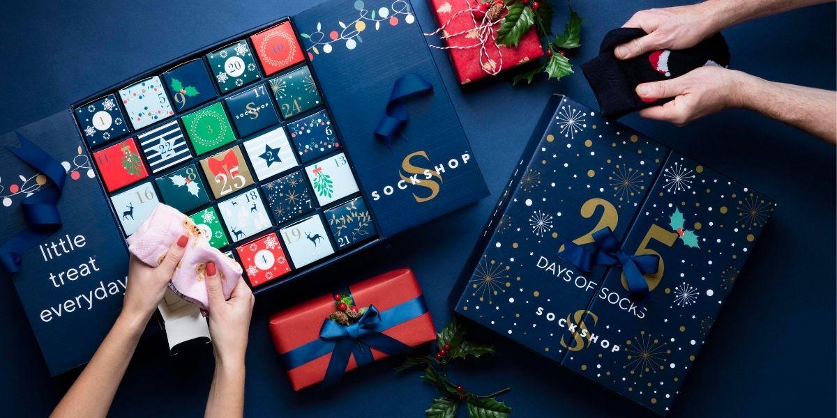 25 Days of Socks - SOCKSHOP advent calendars