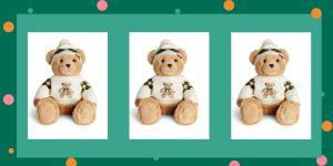 Harrods Christmas Bear 2021 Angus