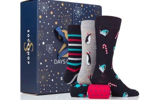 Men's 25 Days of Socks - SOCKSHOP advent calendar