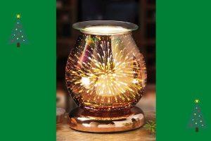 Starburst Aroma Oil Burner Melt Warmer Touch Lamp