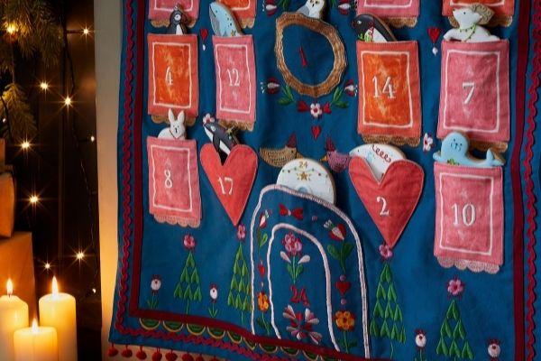 Biscuiteers Sophie Conran Advent Calendar Biscuits