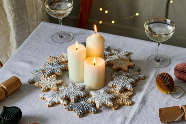 Christmas Wreath DIY Kit Lifestyle