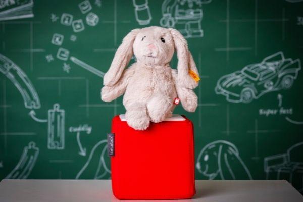 John Lewis Christmas 2021 - Tonies Soft Cuddly Friends - Hoppie Rabbit Audio Play, £29.99