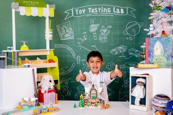 John Lewis Top Toys Tester - Siddie