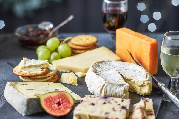 Tesco Finest Cheese Selection on a Slate Board - Christmas 2021