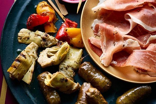Waitrose Christmas 2021 Mediterranean Style Antipasti Platter