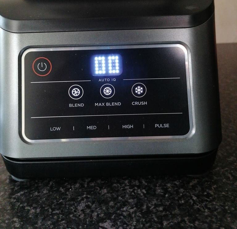 Image of Ninja 2-in-1 blender settings