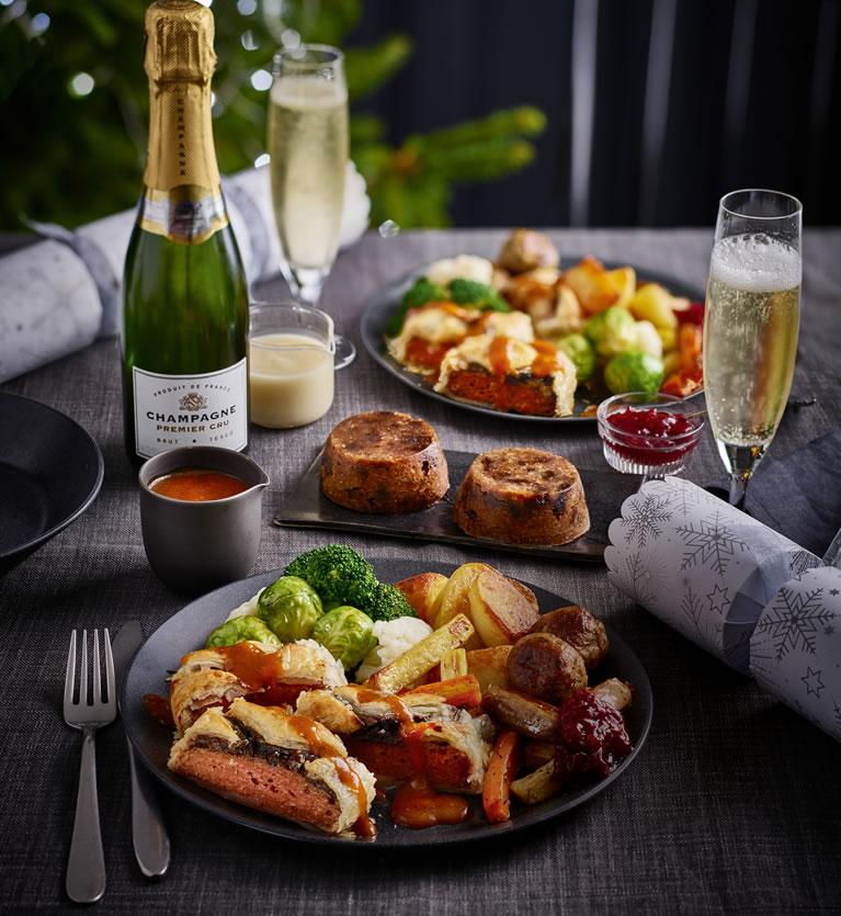 Image Of Tesco Vegan Dinner For Two