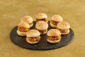 Aldi Christmas 2021 Food - Katsu Chicken Sliders