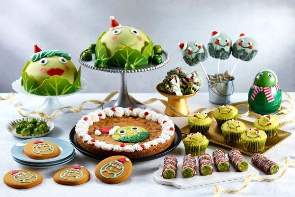 Asda Christmas Food 2021 - Bruce and Betty Brussel Sprout Cakes