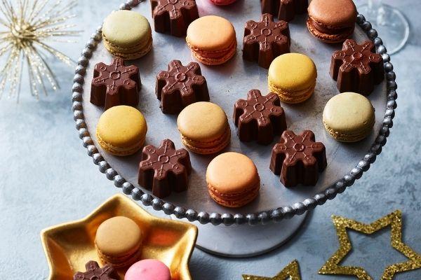 Asda Christmas Food 2021 - Chocolate & Blood Orange Snowflakes