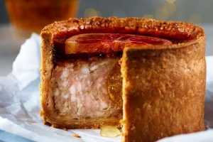 Asda Christmas Food 2021 - Extra Special Candied Clementine Hidden Centre Pork Pie with Orange Blood Jelly