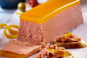 Asda Christmas Food 2021 - Extra Special Duck Liver Pate with a Clementine and Armagnac Jelly Ignot
