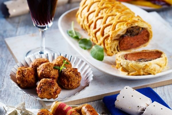 Asda Christmas Food 2021 - Vegan range