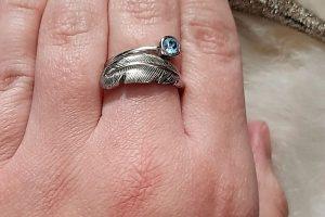 FIYAH Jewellery Adjustable Birthstone Ring IMG