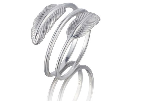 FIYAH Jewellery Plume Adjustable Ring