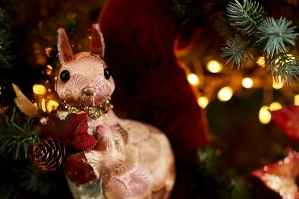 John Lewis Christmas 2021 – Copper River Tapestry Squirrel Room Dec £12
