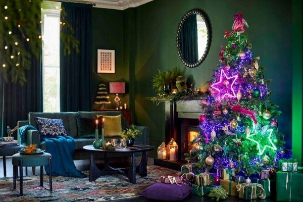 John Lewis Christmas 2021 - Gemstone Forest