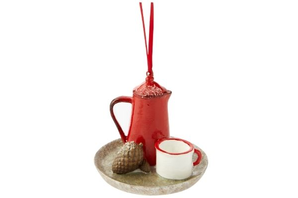 Matalan Christmas 2021 - Tea Set Decoration £3.50