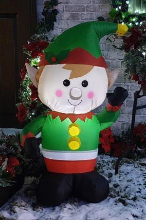 Studio LED Inflatable Elf
