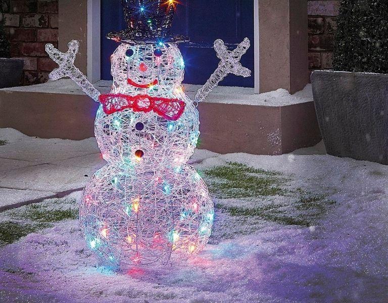 The Range Acrylic LED Snowman