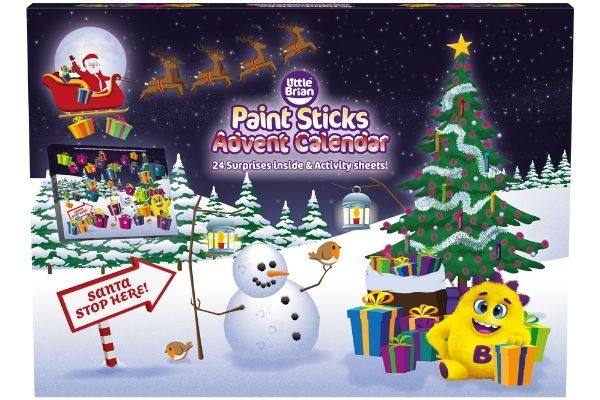 Little Brian Paint Stickers Advent Calendar
