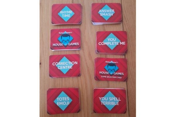 Richard Osman House of Games Cards