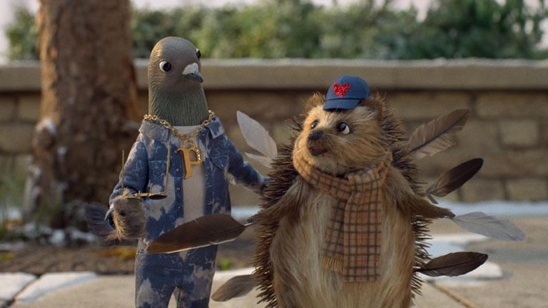 John Lewis and Waitrose Christmas Advert 2020 Scene