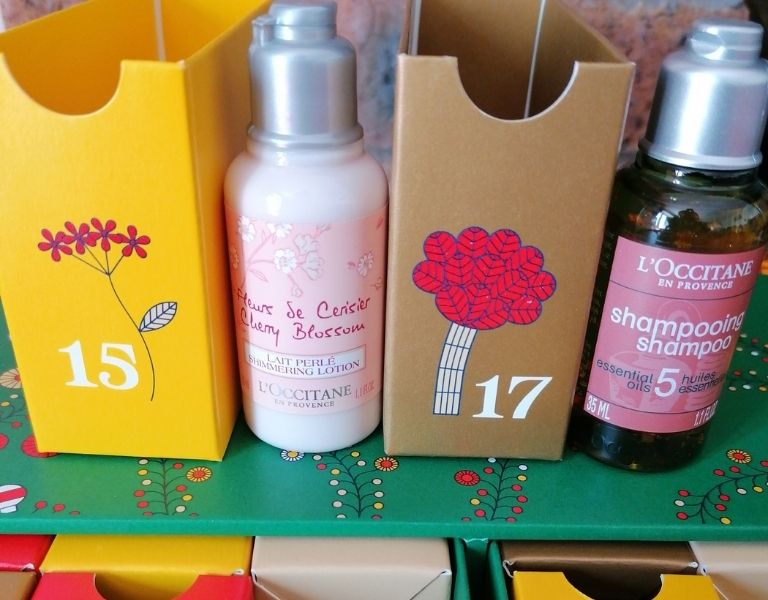 Image Of L'OCCITANE Luxury Beauty Advent Calendar Products