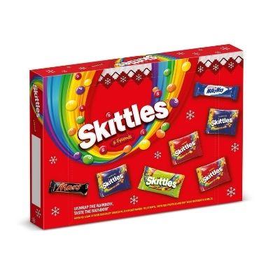 Image Of Mars Skittles Selection Box