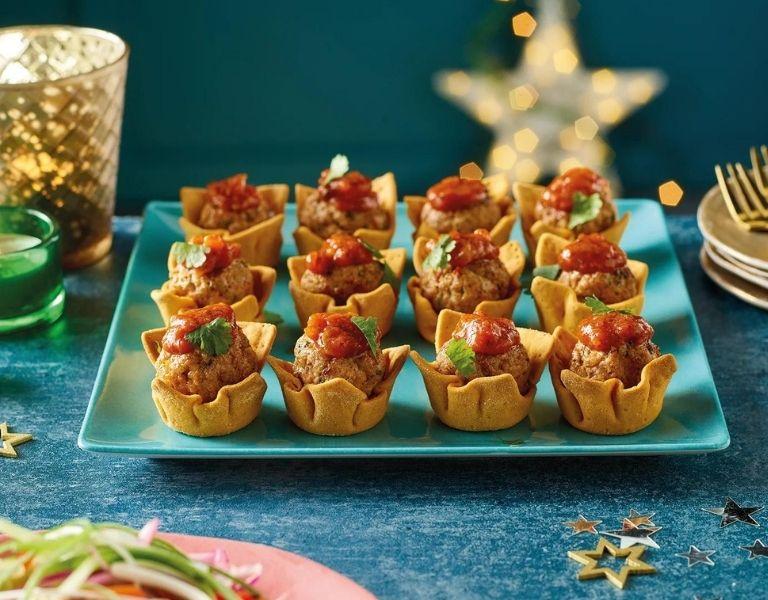 Image Of Morrisons Pork Taco Cups