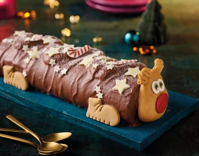 Image Of Morrisons Reindeer Cake