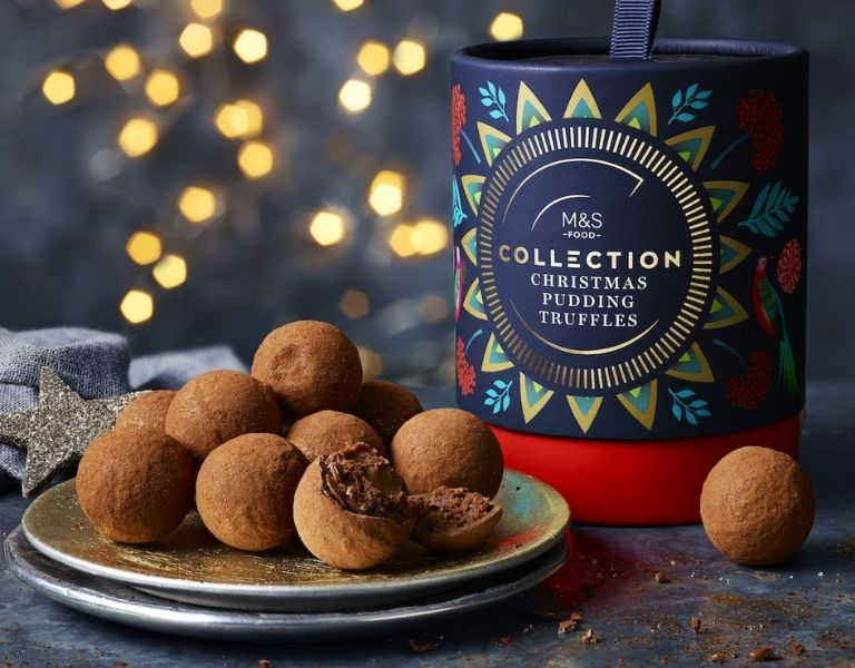 M&S Collection Christmas Pudding Truffles