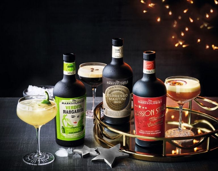 M&S 'The Marksologist' Cocktail Drinks