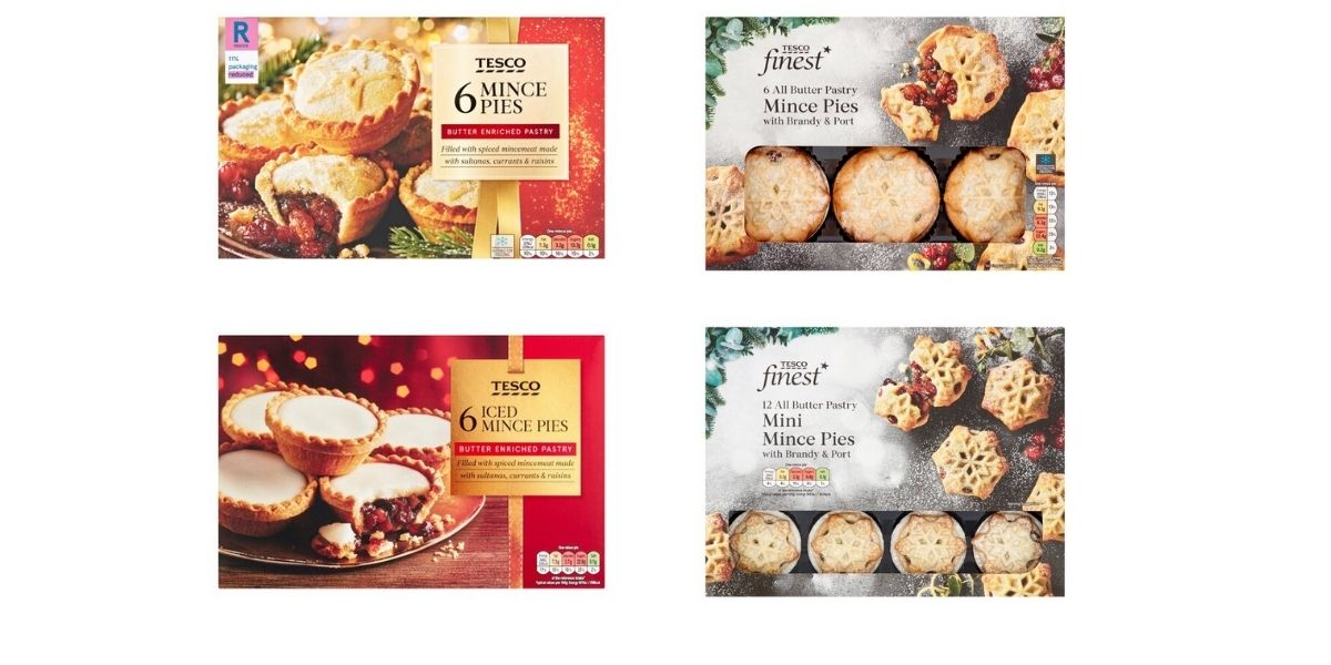 Image of Tesco mince pies