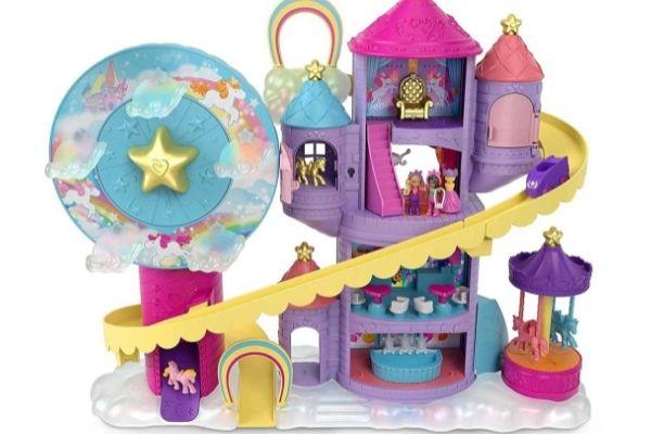 Amazon Top Toys for Christmas 2021 - Polly Pocket Rainbow Funland Theme Park