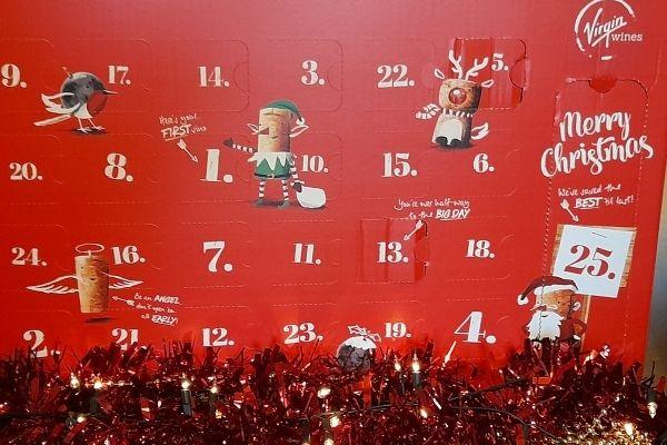 Virgin Wines Mixed Wine Advent Calendar - closed
